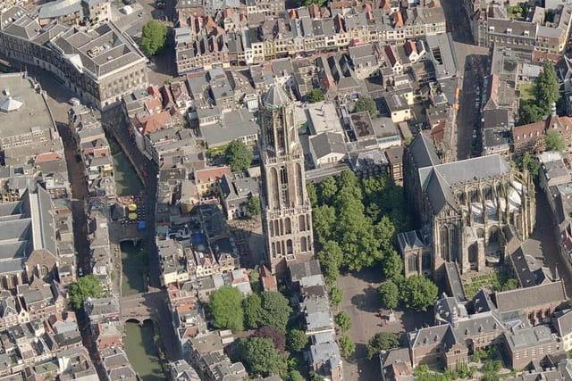 La tour de la Cathédrale d'Utrecht