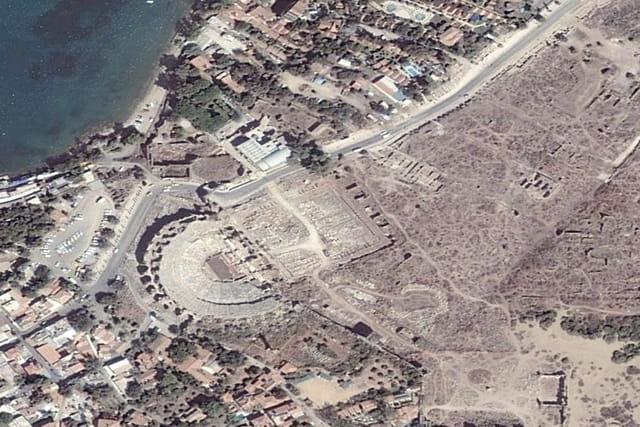 Le théâtre romain de Side