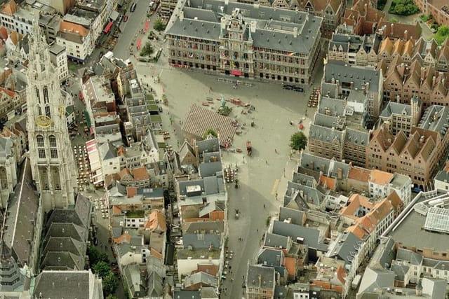 Le vieux centre d'Anvers