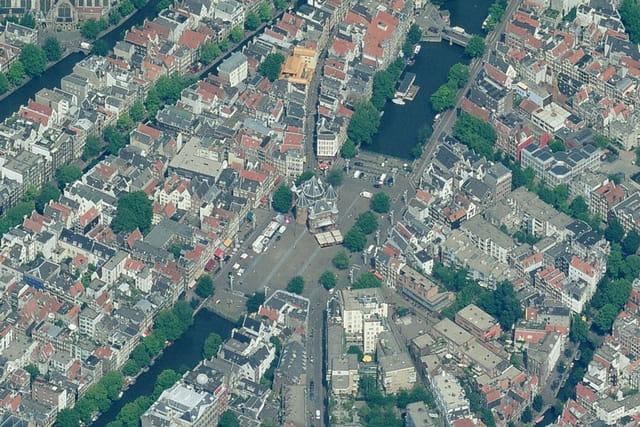 Nieuwmarkt à Amsterdam