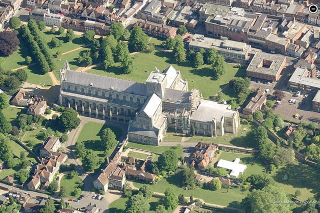 La cathédrale de Winchester