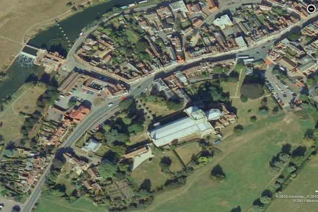 L'abbaye de Tewkesbury