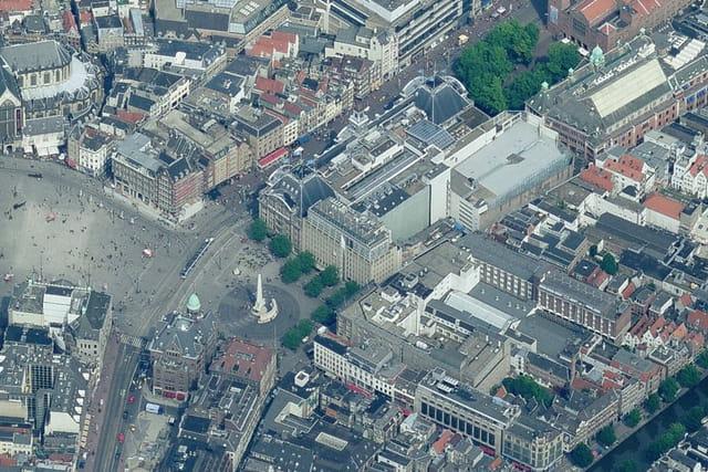 Place du Dam d'Amsterdam