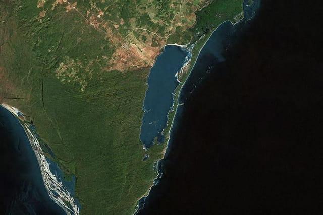 La lagune d'Oviedo