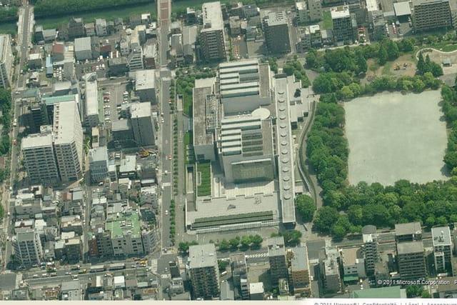 Le musée d'art contemporain de Tokyo