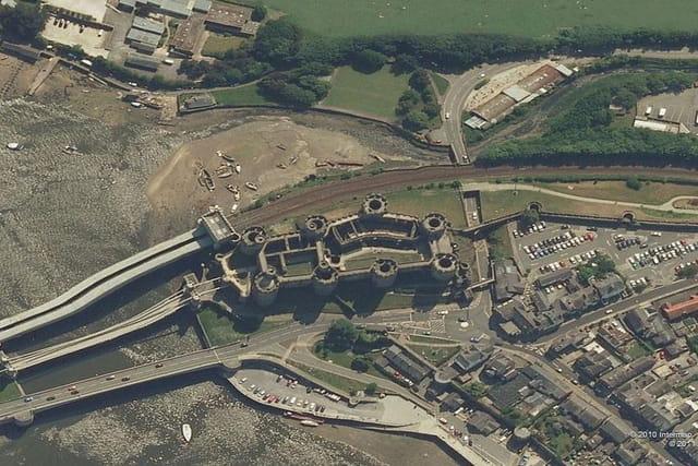 Le château de Conwy