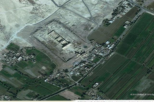 La cité de Medinet Habou