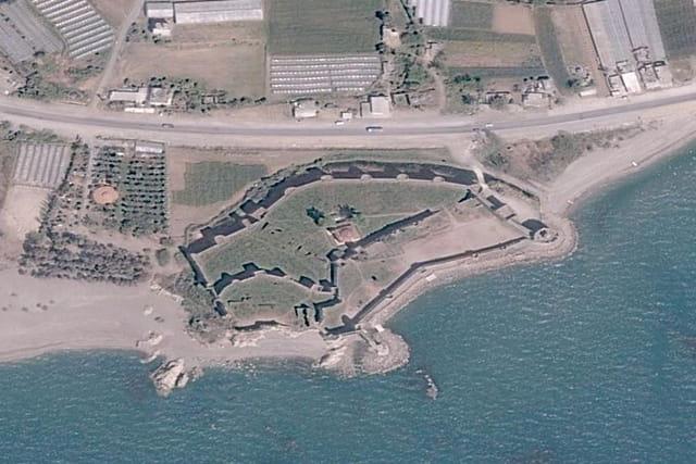 La forteresse d'Anamur