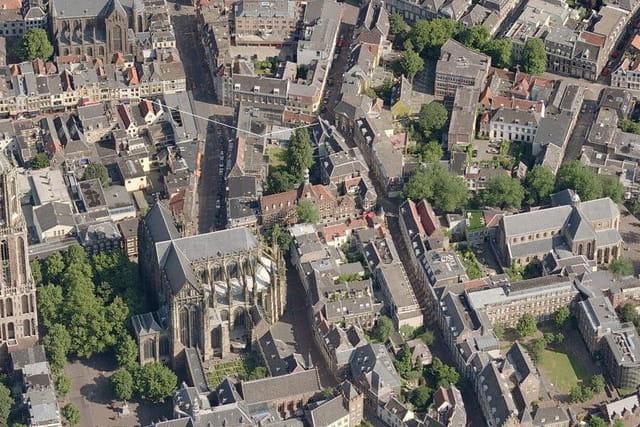 L'ancienne cathédrale d'Utrecht