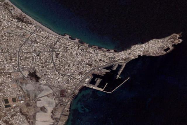 La place du Caire à Mahdia
