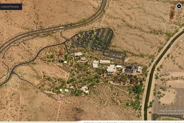 Le jardin botanique du désert