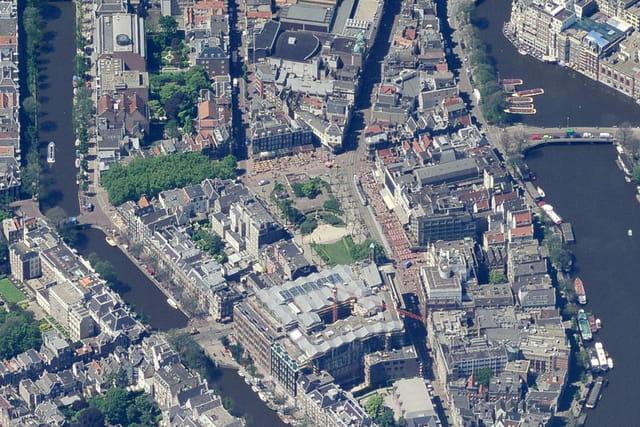 Rembrandtplein d'Amsterdam