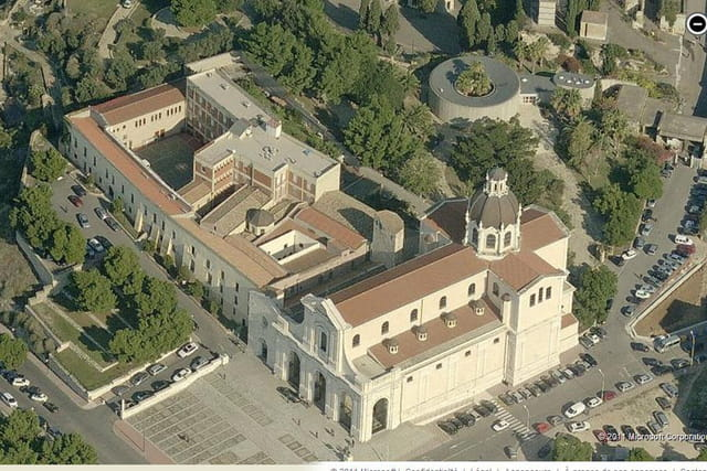 Le sanctuaire et la basilique Nostra Signora di Bonaria