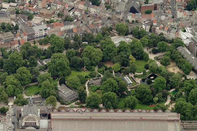 Le jardin zoologique d'Anvers