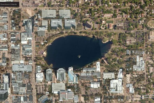 Le parc de Lake Eola