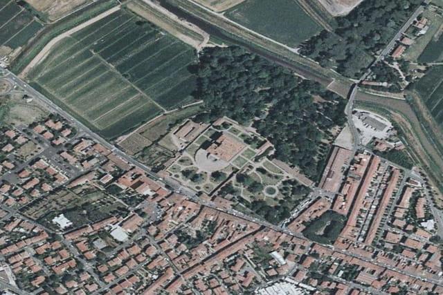 La villa Médicis de Poggio a Caiano
