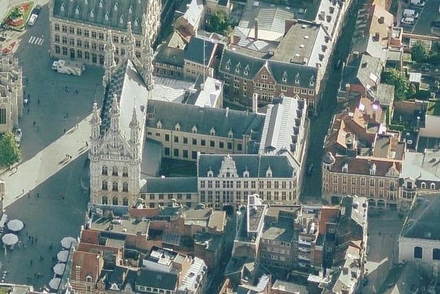L'hôtel de ville de Louvain