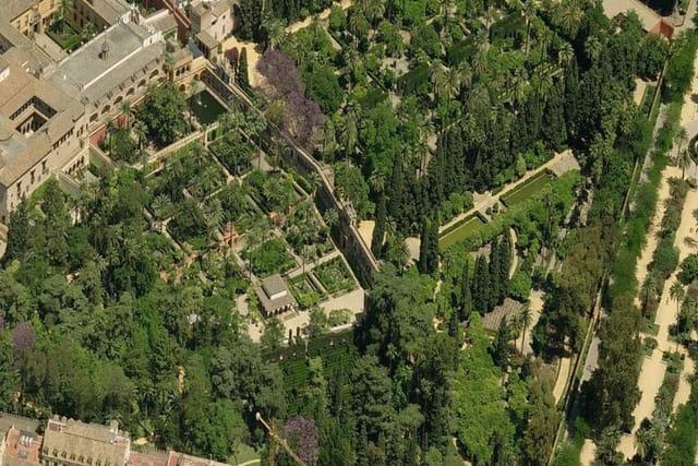 Les jardins de l'Alcázar