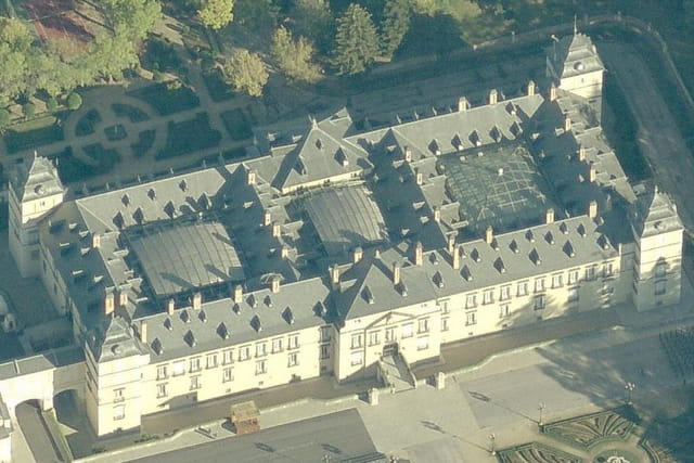 Le palais royal d'El Pardo