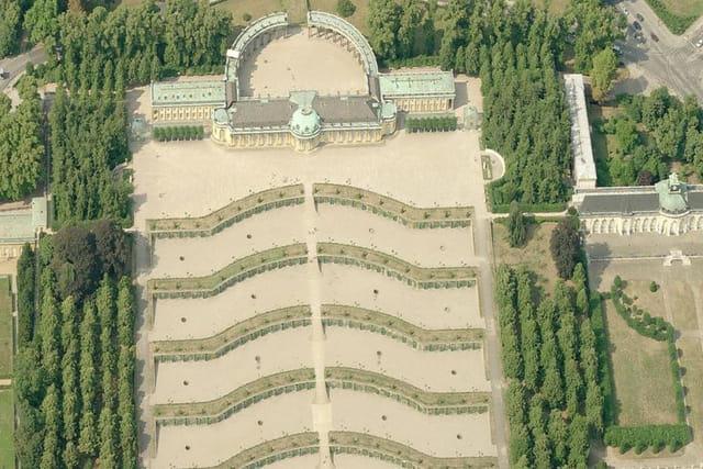 Les nouvelles chambres du château Sans-Souci