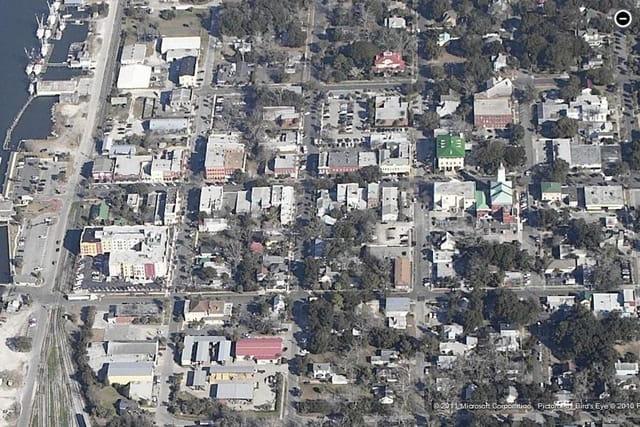 Le quartier historique de Fernandina Beach