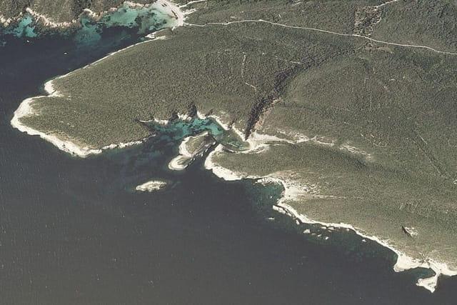 Les grottes marines et la Côte