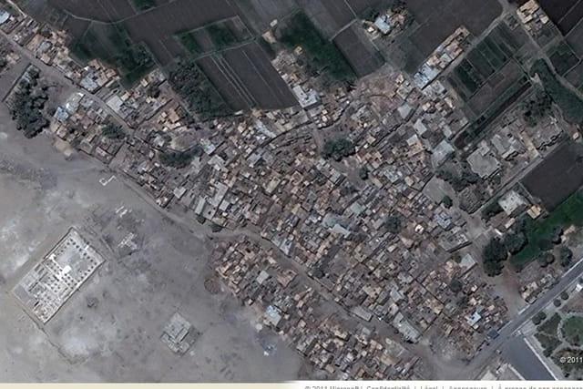 La ville ancienne d'Abydos