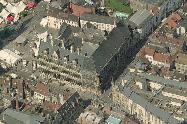 L'hôtel de ville de Gand