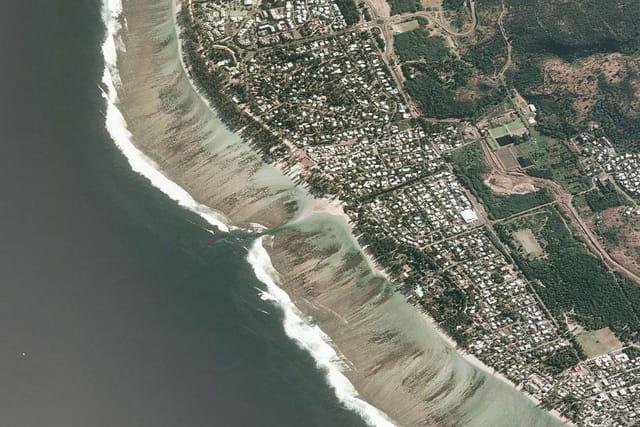 Les plages de l'Hermitage-les-Bains et La Saline-les-Bains