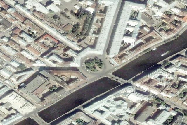 La place Lomonossov