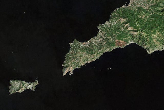 La presqu'île de Sorrente