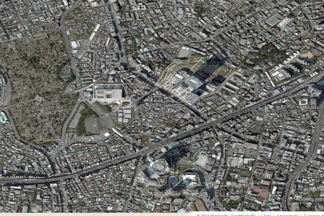 Le quartier de Roppongi