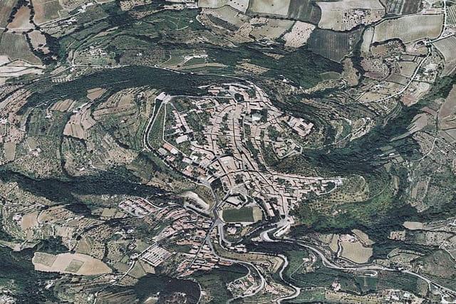 L'hôtel de ville de Montalcino