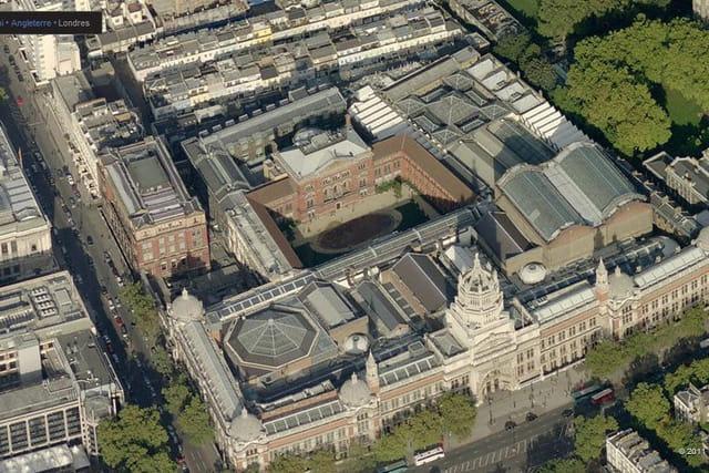 Le musée Victoria et Albert