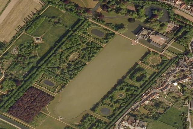 Le parc du château de Belœil