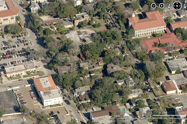 Le vieux village de Saint Augustine