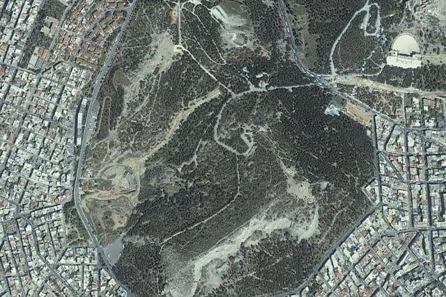 La colline de Philopappos
