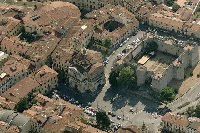 La basilique Santa Maria delle Carceri