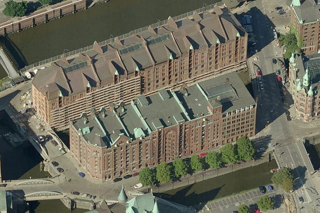 Quartier Speicherstadt de Hambourg
