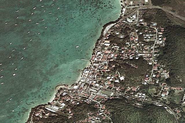Les plages de la presqu'île de Sainte-Anne
