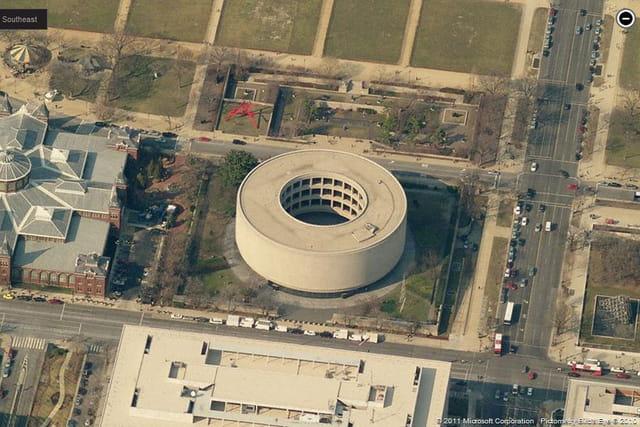 Le musée d'art contemporain Hirshhorn et le jardin de sculptures