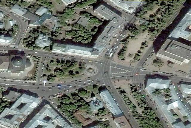 La rue Bolchaïa Nikitskaïa