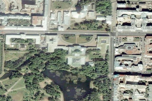 Le palais et le jardin de Tauride