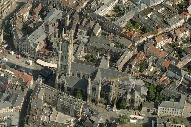 La cathédrale Saint-Bavon