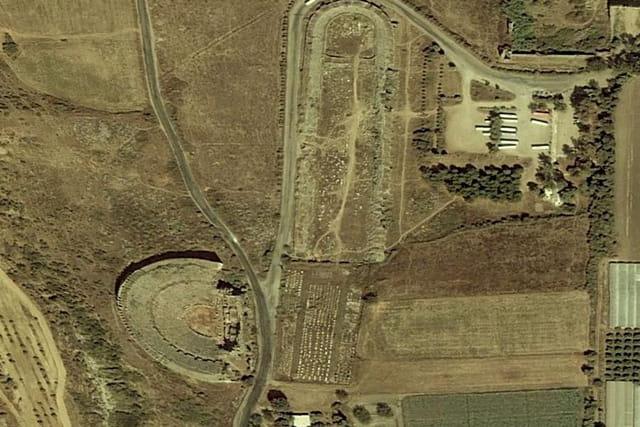 Le site archéologique de Perge
