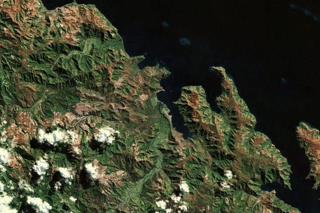 La région de Kouaoua et Poro
