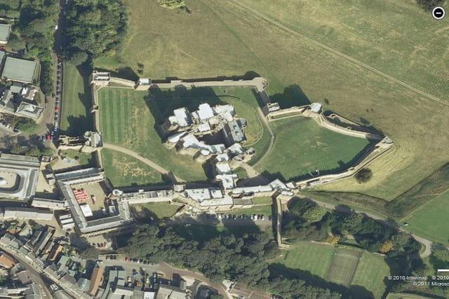 Le château d'Alnwick