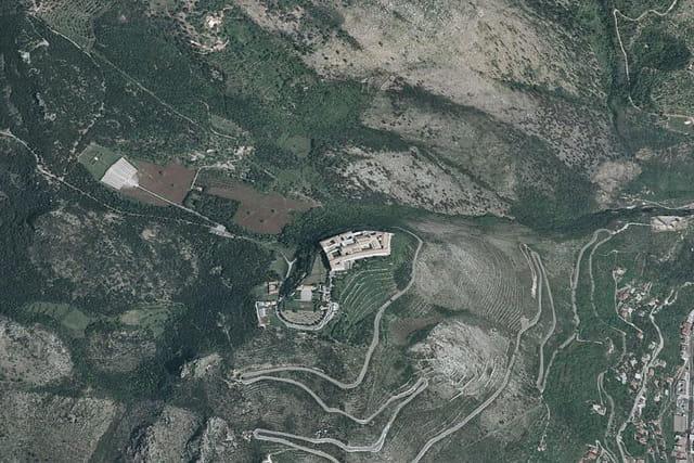 L'abbaye de Mont-Cassin