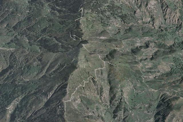 Le panorama du monte Antennammare