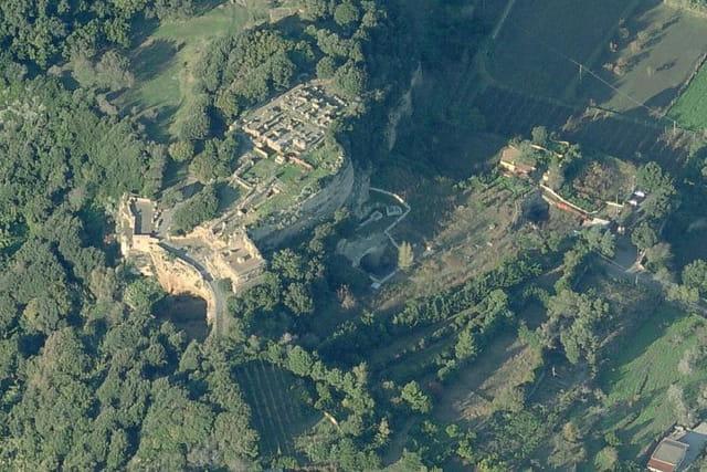 Le parc archéologique de Cuma
